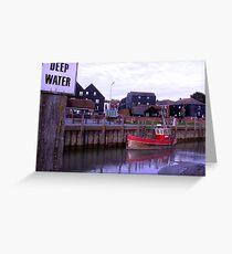 River Rother, Rye, East Sussex Greeting Card