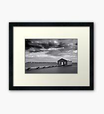 The Boathouse, Crawley Framed Print