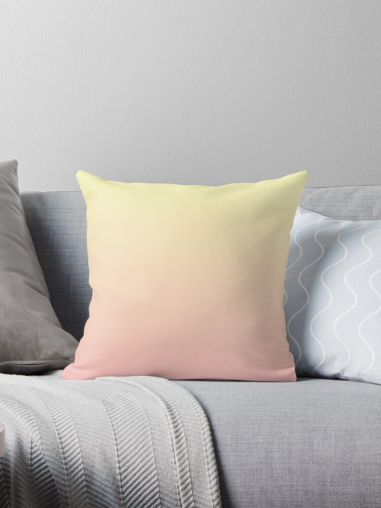 Yellow and Pink Gradient Colors by jdowdell1111