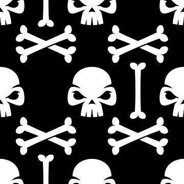 Skull and Bones Halloween by Jaxthedog