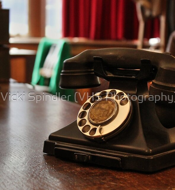 Give Me A Call Sometime by Vicki Spindler (VHS Photography)