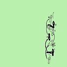 Dance steps by Daan de Groote