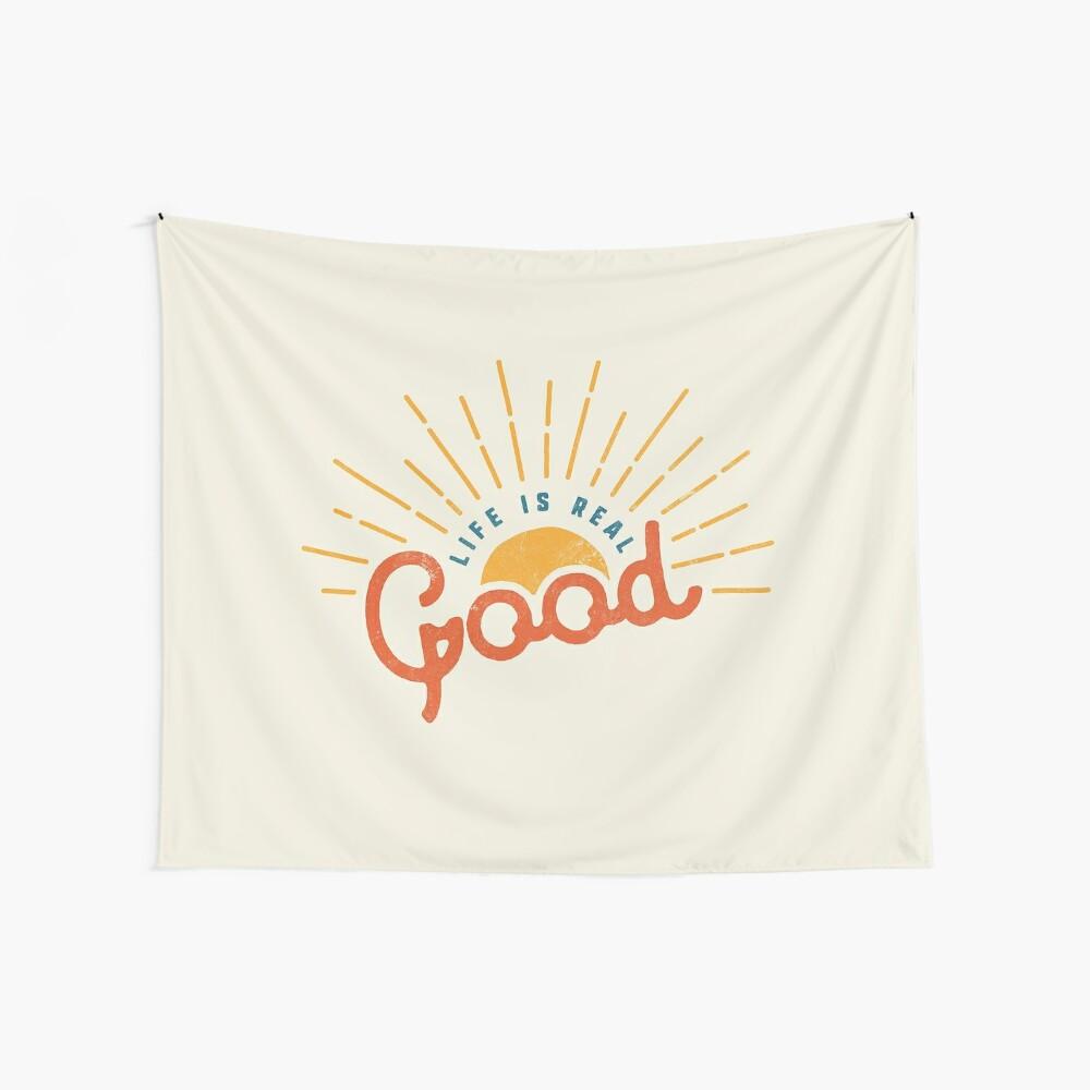 Gutes Leben Wandbehang