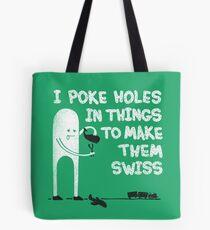 Swiss Happens! Tote Bag