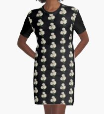 Electric Flowers! Graphic T-Shirt Dress