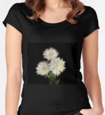 Electric Flowers! Fitted Scoop T-Shirt