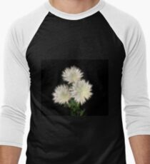 Electric Flowers! Baseball ¾ Sleeve T-Shirt