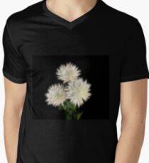 Electric Flowers! V-Neck T-Shirt