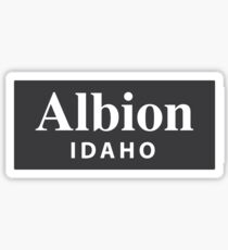 Albion, Idaho Sticker