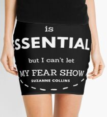 Flight is Essential   Hunger Games Quote Mini Skirt