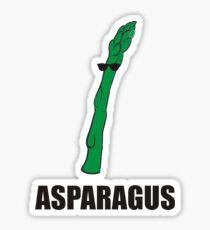 Cool Asparagus Sticker