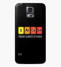 Sarcasm Primary Element Of Humor Periodic Element Table  Case/Skin for Samsung Galaxy