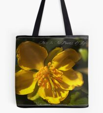 'Trust In The Process Of Life' Tote Bag