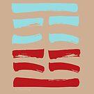 27 Nourishing I Ching Hexagram by SpiritStudio