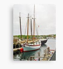 The Pinky & The Dory Fisherman ~ Gloucester, Massachusetts Metal Print