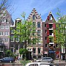 Colorful Amsterdam by Elena Skvortsova