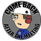 Hermie Hardhat Sticker by boydanimation
