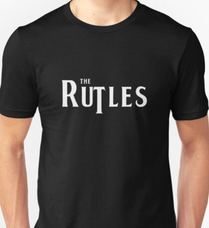 Rutles Logo (White Writing) T-Shirt