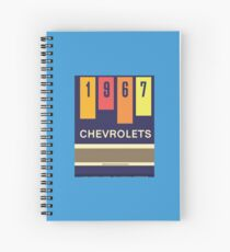 001 | 1967 Chevrolets Matchbook Spiral Notebook