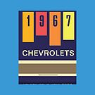 001 | 1967 Chevrolets Matchbook by phillumenation