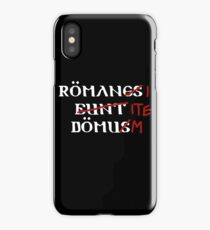 Roman's Go Home! iPhone Case/Skin