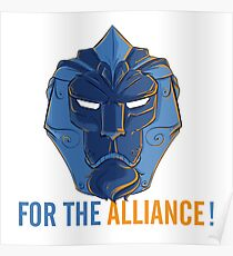 For The Alliance!  Poster