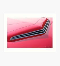 Auto Detail V Art Print