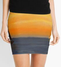 Sailing into the Sunset Mini Skirt