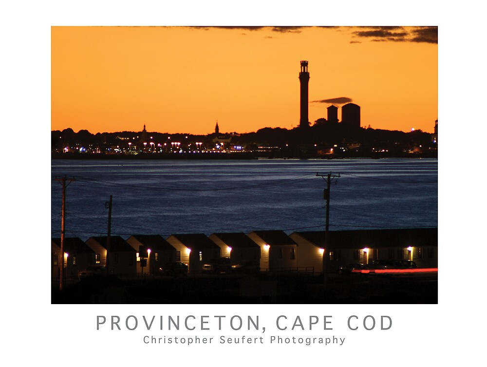 Provincetown, Cape Cod Poster by Christopher Seufert