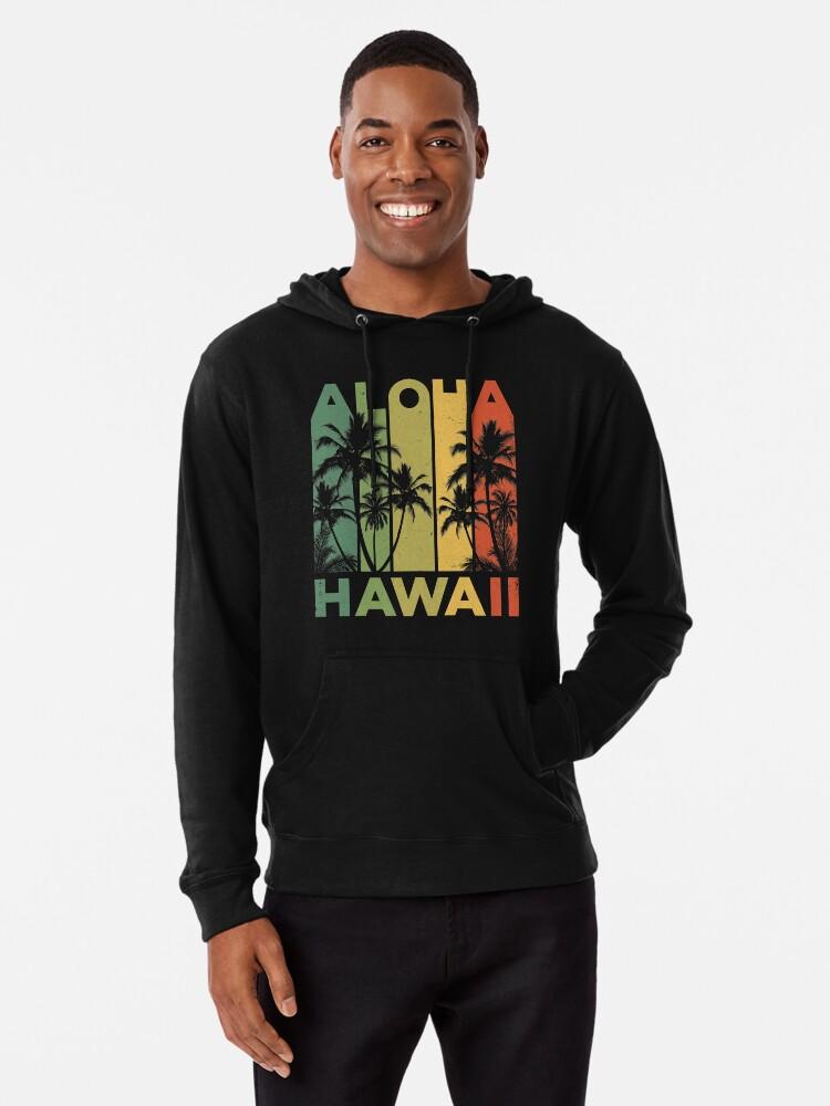 d719cbc9 Aloha Hawaii Hawaiian Island T shirt Vintage 1980s Throwback Retro Gifts  Tees Men Women Kids Lightweight