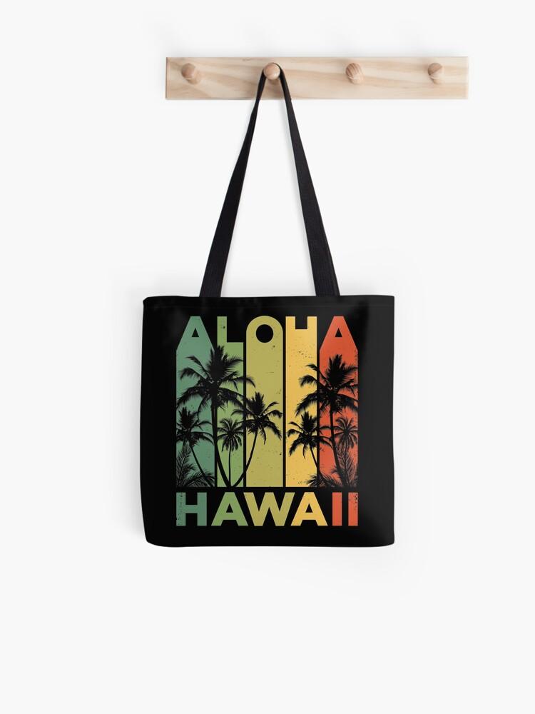 89aac458 Aloha Hawaii Hawaiian Island T shirt Vintage 1980s Throwback Retro Gifts  Tees Men Women Kids Tote
