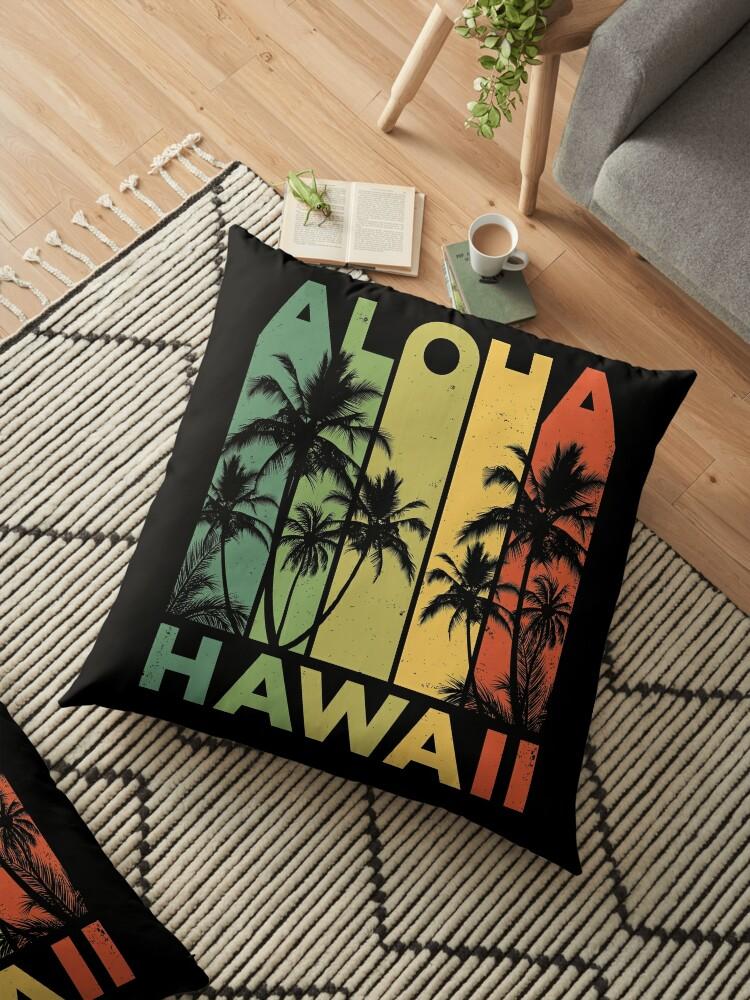 f71cdb1d Aloha Hawaii Hawaiian Island T shirt Vintage 1980s Throwback Retro Gifts  Tees Men Women Kids