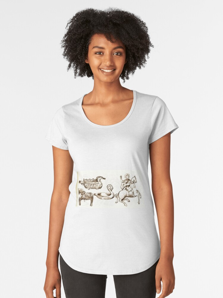 old town Women's Premium T-Shirt Front