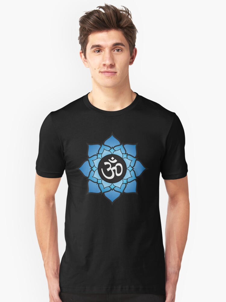 Lotus Aum Mantra by JKline