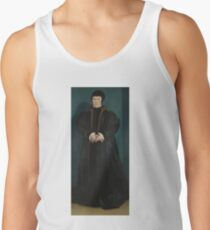 Hans Holbein the Younger - Christina of Denmark, Duchess of Milan Men's Tank Top