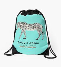 Grévy's Zebra Drawstring Bag