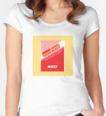 002 | Mikes Restaurant Matchbook Women's Fitted Scoop T-Shirt