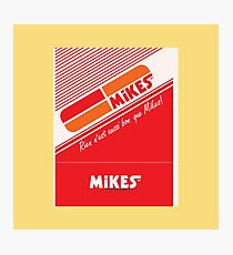 002 | Mikes Restaurant Matchbook Photographic Print