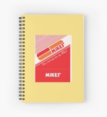 002 | Mikes Restaurant Matchbook Spiral Notebook