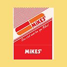 002 | Mikes Restaurant Matchbook by phillumenation