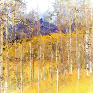 Aspen Ambience - Painting by glasere