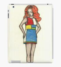 fashion de stijl iPad Case/Skin