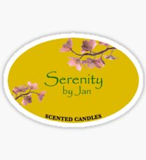 'Serenity by Jan' The Office Sticker