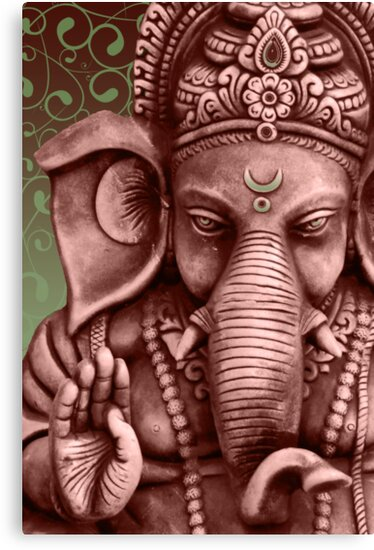 Ganesha by sharon allitt