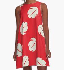 Lilo Floral Pattern  A-Line Dress