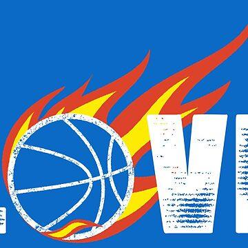 Basketball Love by RhoaDesigns