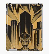 Metropolis Movie Vintage iPad Case/Skin