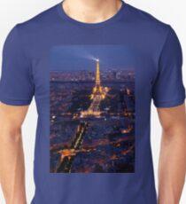 Eiffel Tower at twilight Unisex T-Shirt