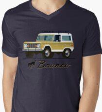 Vintage Bronco Men's V-Neck T-Shirt
