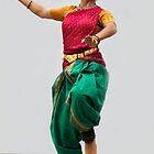 HOLI Indian Color Festival Dancer in San Diego by Heather Friedman
